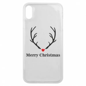 Phone case for iPhone Xs Max Horn, Merry Christmas
