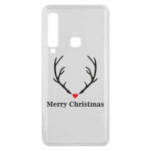 Phone case for Samsung A9 2018 Horn, Merry Christmas