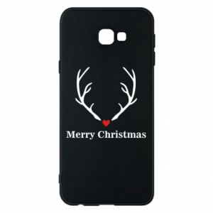 Phone case for Samsung J4 Plus 2018 Horn, Merry Christmas