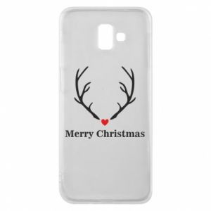 Phone case for Samsung J6 Plus 2018 Horn, Merry Christmas