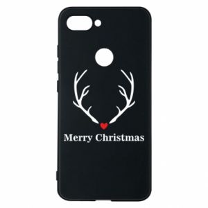 Phone case for Xiaomi Mi8 Lite Horn, Merry Christmas