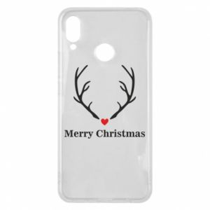Phone case for Huawei P Smart Plus Horn, Merry Christmas