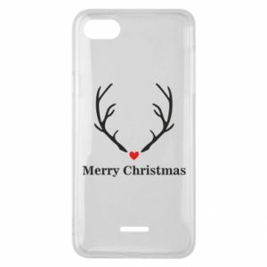 Phone case for Xiaomi Redmi 6A Horn, Merry Christmas