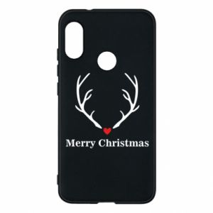 Phone case for Mi A2 Lite Horn, Merry Christmas