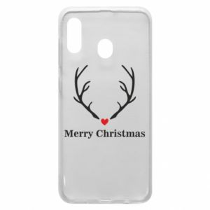 Phone case for Samsung A30 Horn, Merry Christmas