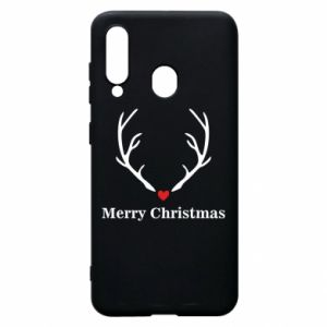 Phone case for Samsung A60 Horn, Merry Christmas