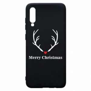 Phone case for Samsung A70 Horn, Merry Christmas