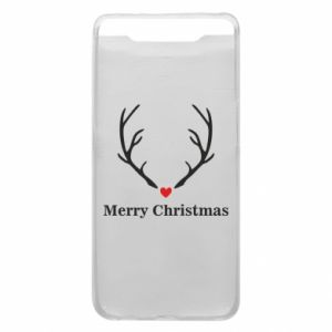 Phone case for Samsung A80 Horn, Merry Christmas