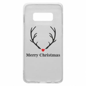 Phone case for Samsung S10e Horn, Merry Christmas
