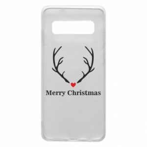 Phone case for Samsung S10 Horn, Merry Christmas