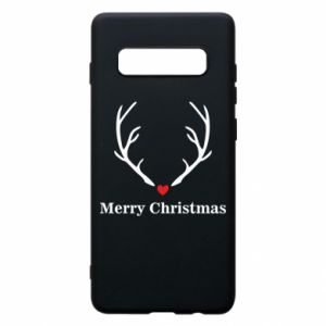 Phone case for Samsung S10+ Horn, Merry Christmas
