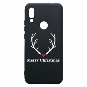 Phone case for Xiaomi Redmi 7 Horn, Merry Christmas