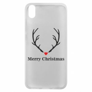 Phone case for Xiaomi Redmi 7A Horn, Merry Christmas