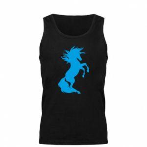 Męska koszulka Horse on hind legs - PrintSalon