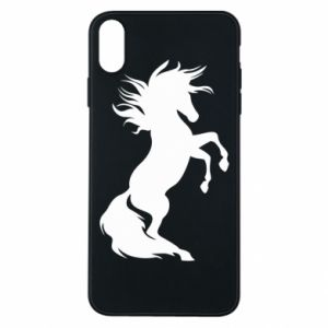 Phone case for iPhone Xs Max Horse on hind legs