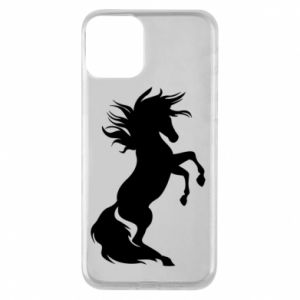 Phone case for iPhone 11 Horse on hind legs