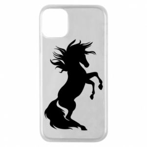 Phone case for iPhone 11 Pro Horse on hind legs