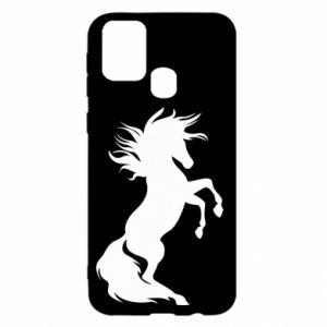 Etui na Samsung M31 Horse on hind legs