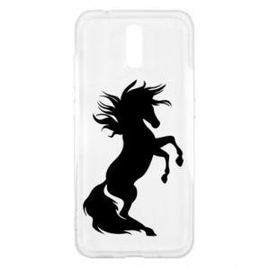 Etui na Nokia 2.3 Horse on hind legs
