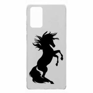 Etui na Samsung Note 20 Horse on hind legs