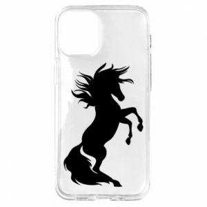 Etui na iPhone 12 Mini Horse on hind legs