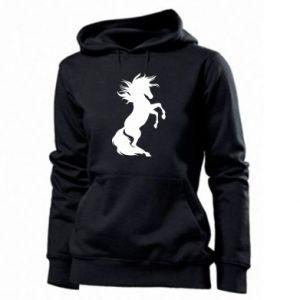 Damska bluza Horse on hind legs - PrintSalon