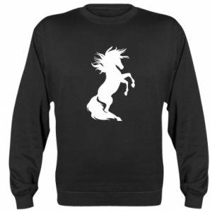 Bluza (raglan) Horse on hind legs - PrintSalon