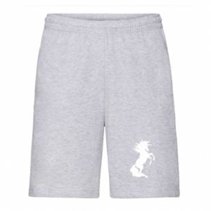Men's shorts Horse on hind legs