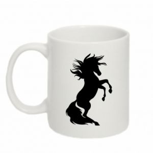 Mug 330ml Horse on hind legs