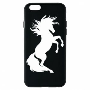 Phone case for iPhone 6/6S Horse on hind legs