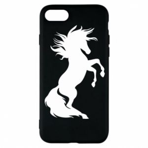 Phone case for iPhone 8 Horse on hind legs