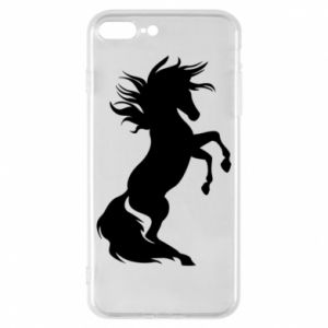 Phone case for iPhone 8 Plus Horse on hind legs