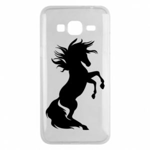 Phone case for Samsung J3 2016 Horse on hind legs