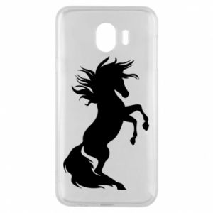 Phone case for Samsung J4 Horse on hind legs