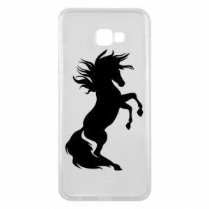 Phone case for Samsung J4 Plus 2018 Horse on hind legs