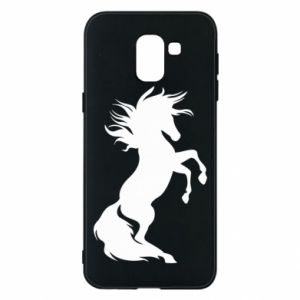 Phone case for Samsung J6 Horse on hind legs