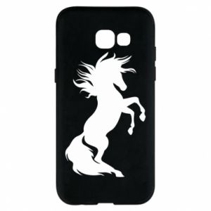 Phone case for Samsung A5 2017 Horse on hind legs