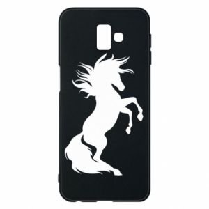 Phone case for Samsung J6 Plus 2018 Horse on hind legs