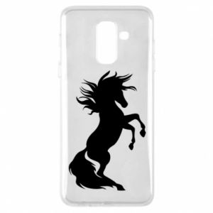 Phone case for Samsung A6+ 2018 Horse on hind legs
