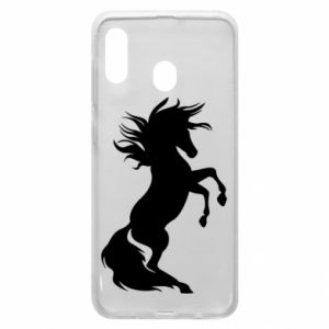 Phone case for Samsung A30 Horse on hind legs