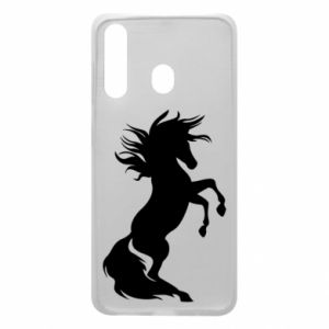 Phone case for Samsung A60 Horse on hind legs