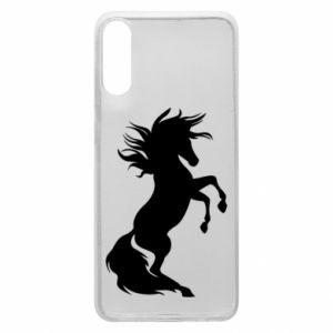 Phone case for Samsung A70 Horse on hind legs