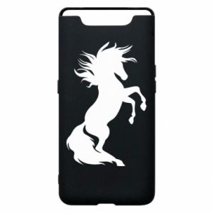 Phone case for Samsung A80 Horse on hind legs