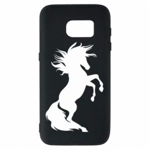 Phone case for Samsung S7 Horse on hind legs