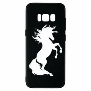 Phone case for Samsung S8 Horse on hind legs