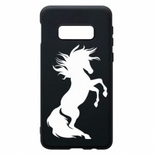 Phone case for Samsung S10e Horse on hind legs