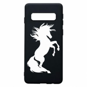 Phone case for Samsung S10 Horse on hind legs