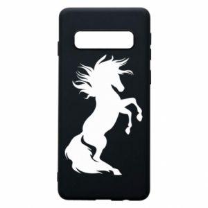 Etui na Samsung S10 Horse on hind legs