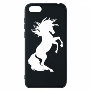 Phone case for Huawei Y5 2018 Horse on hind legs