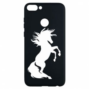 Phone case for Huawei P Smart Horse on hind legs